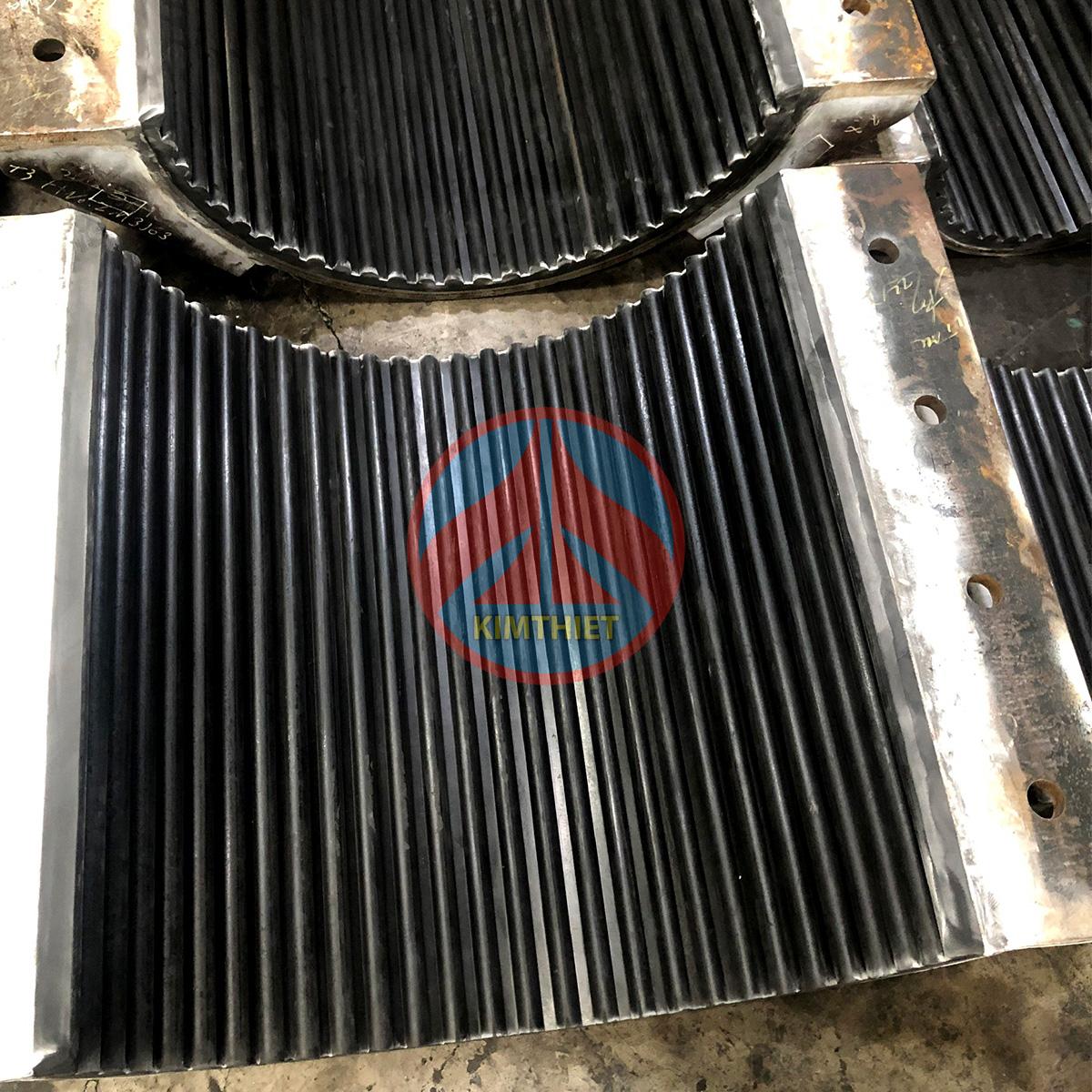Bọc cao su cho Clamp dầu khí